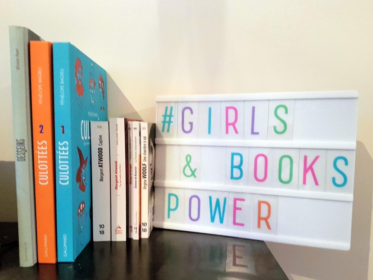 {Girls and Books Power} : un défi littéraire à partager